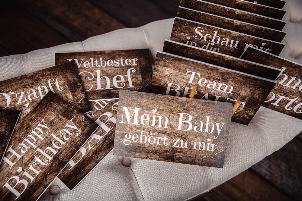 Sprüche Schilder Fotobox Odenwald Kreativ mit links
